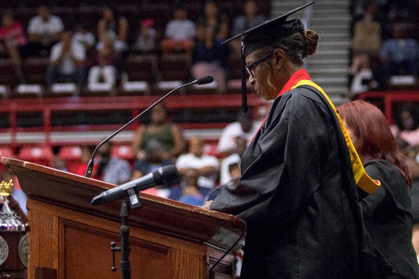 Elisa Bryant's Gardner Webb University Graduation