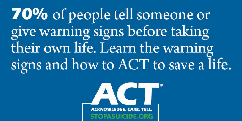 ACT: STOPASUICIDE.ORG Save-A-Life