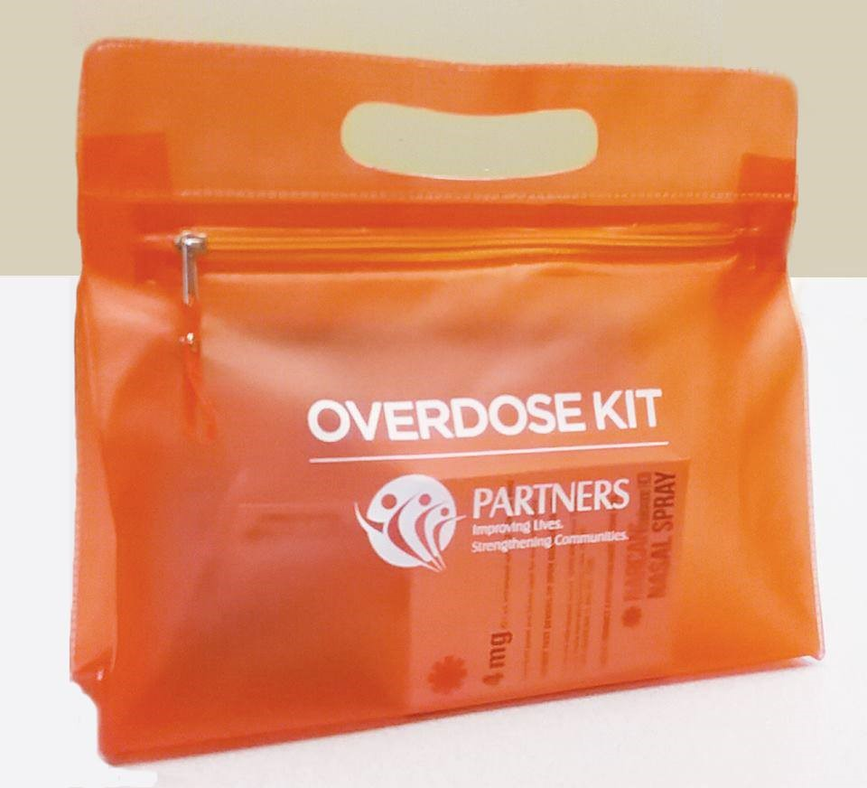 Opioid Overdose Reversal Kits used for overdose rescues